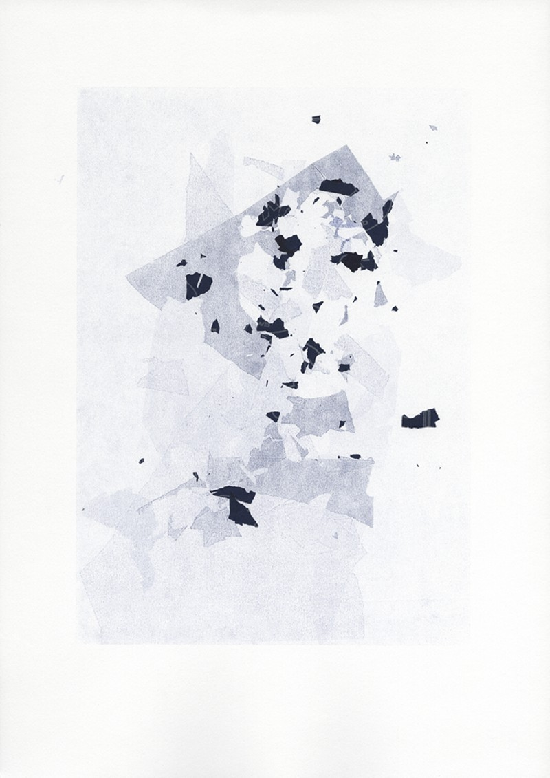 Dominique Edwards. Carbon Copy Print VII. 2014